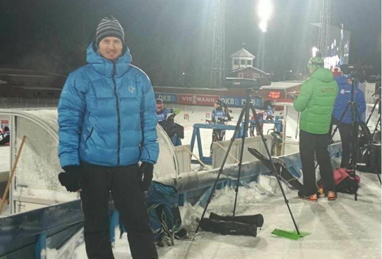 TRENER TSJEKKERNE: Anders Magnus Bratli, her fotografert på kommende sesongs VM-arena i Östersund, er nå assistent på det tsjekkiske herrelandslaget i skiskyting.
