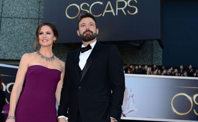 OSCAR: Garner og Ben Affleck på Oscar-utdelingen i 2013, der han vant pris for «Operasjon Argo».