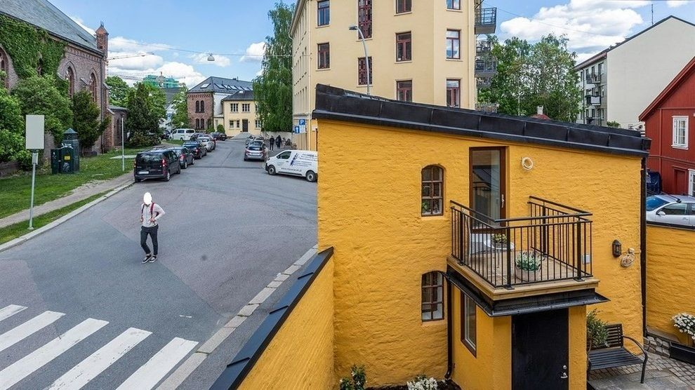 23 KVADRATMETER: Minieneboligen på Kampen er nå solgt for 135.000 kroner per kvadratmeter.