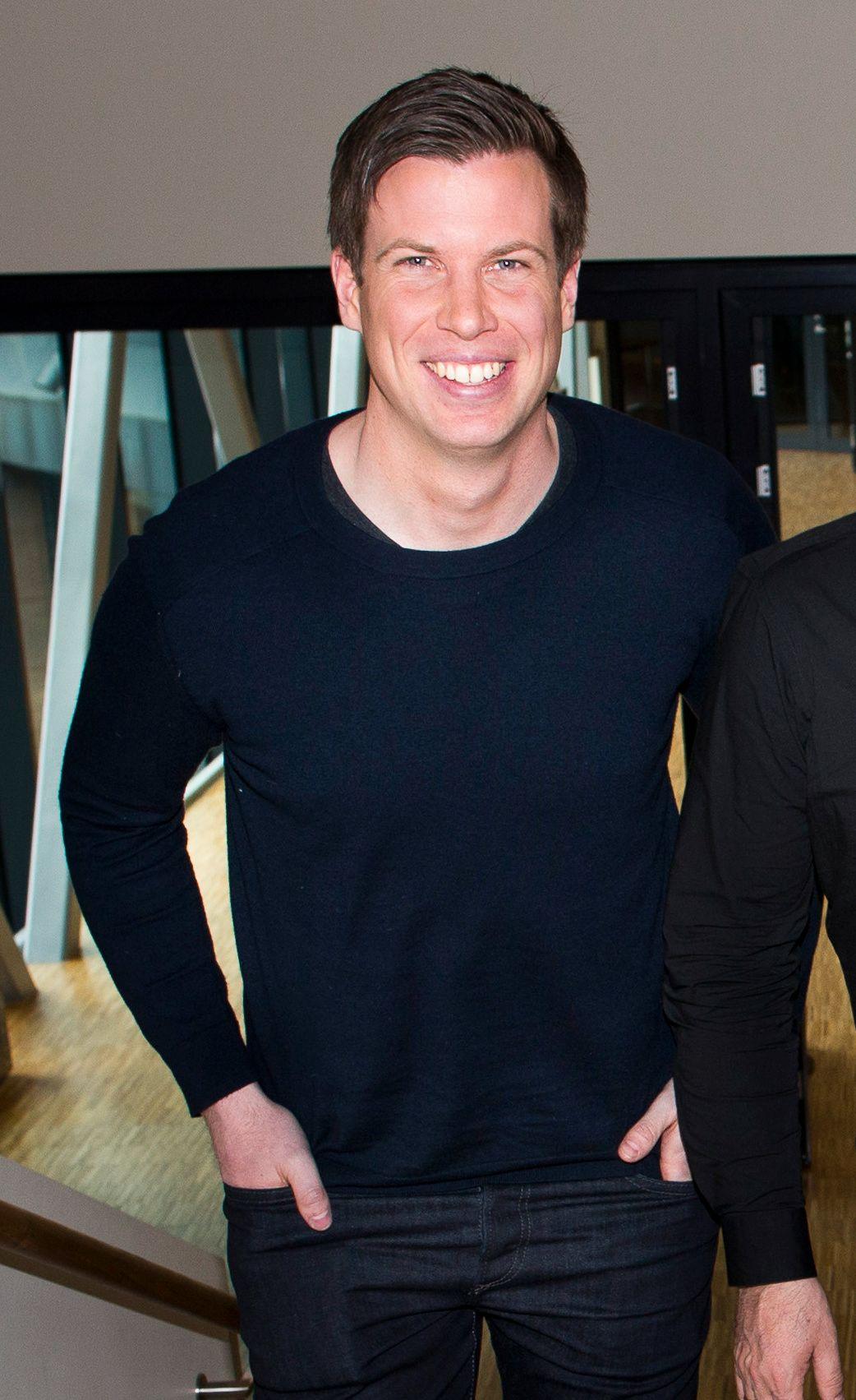 TV 2-PROFIL: Tidligere Start-spiller Jesper Mathisen er nå fotballkommentator og ekspert i TV 2.