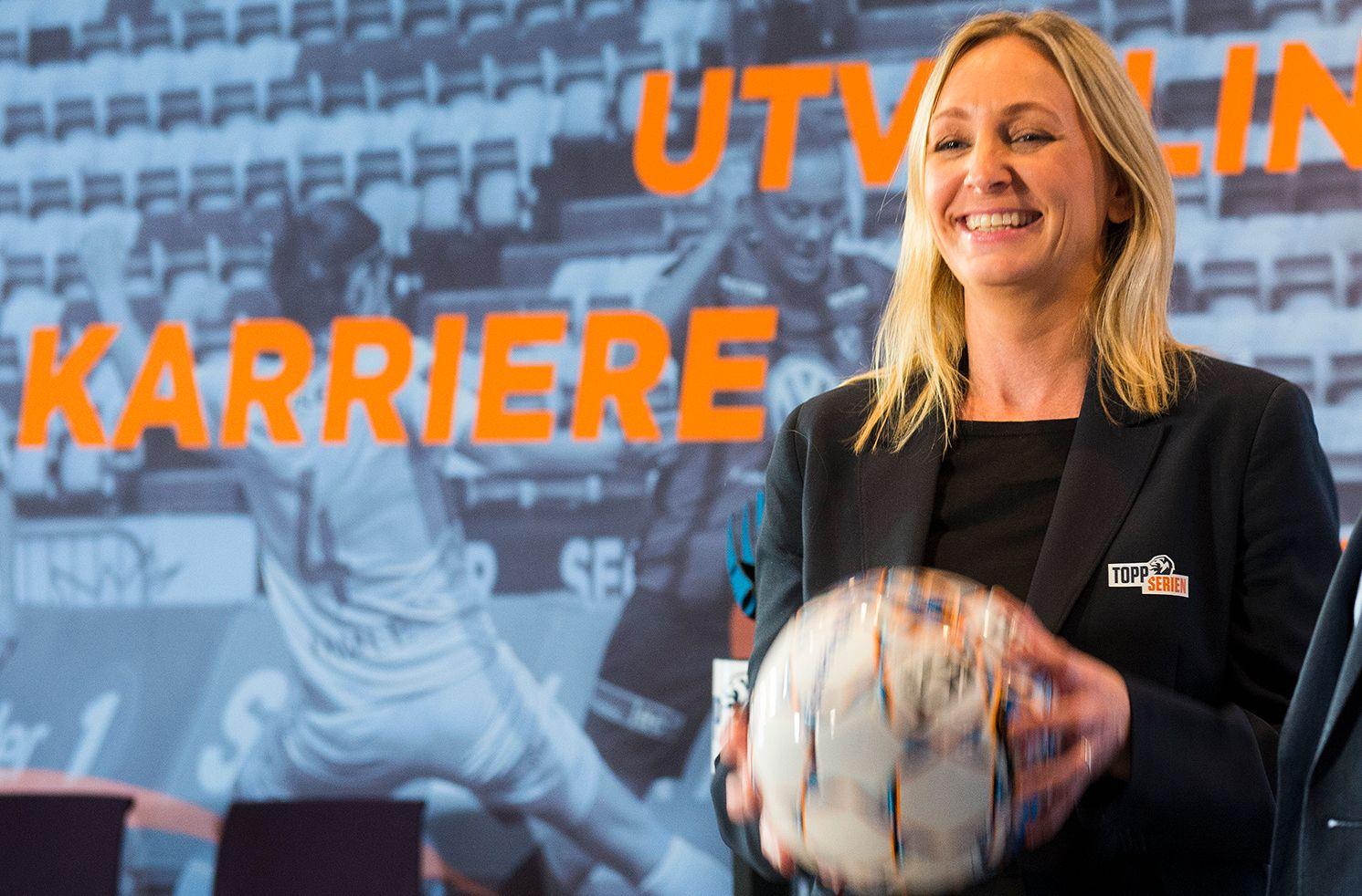 HJERTESAK: Hege Jørgensen kjemper for at forholdene skal legges bedre til rette for fotballspillende jenter.