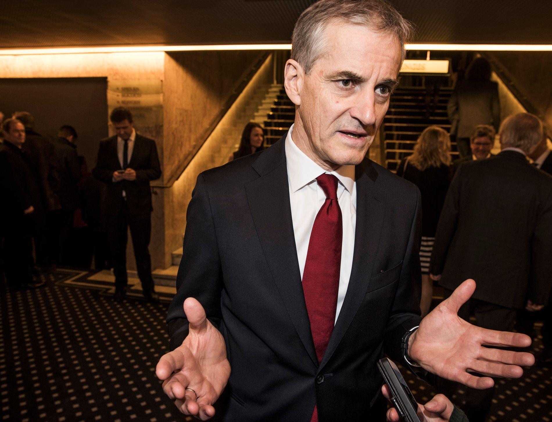 VILLE STYRKE ARBEIDSMILJØLOVEN: Men nå har regjeringspartiene stemt mot APs forslag i Stortinget.