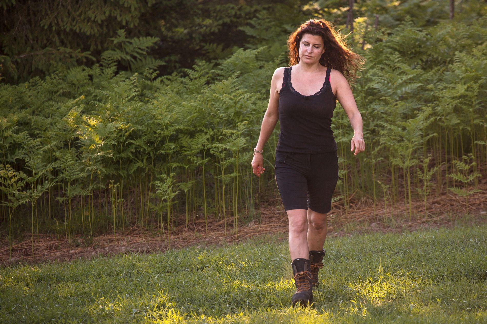 SLÅTT UT: Donna Ioanna spilte høyt da hun utfordret Kathrine Sørland i den første tvekampen i årets «Farmen kjendis» - og tapte. Dermed måtte hun forlate gården, men får en ny sjanse på «Torpet kjendis».