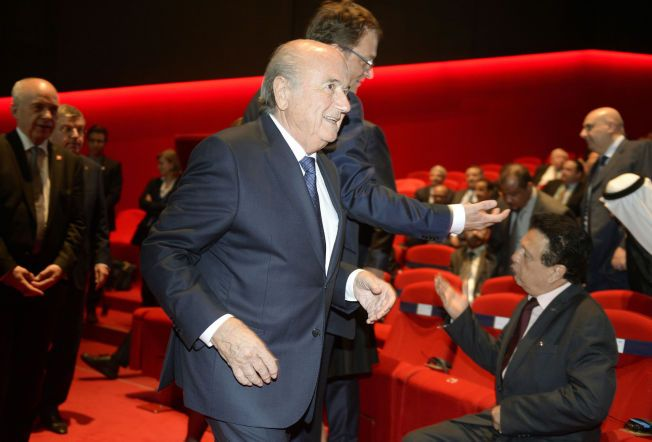 NY PERIODE? FIFA-president Sepp Blatter under FIFA-kongressen i Zürich.