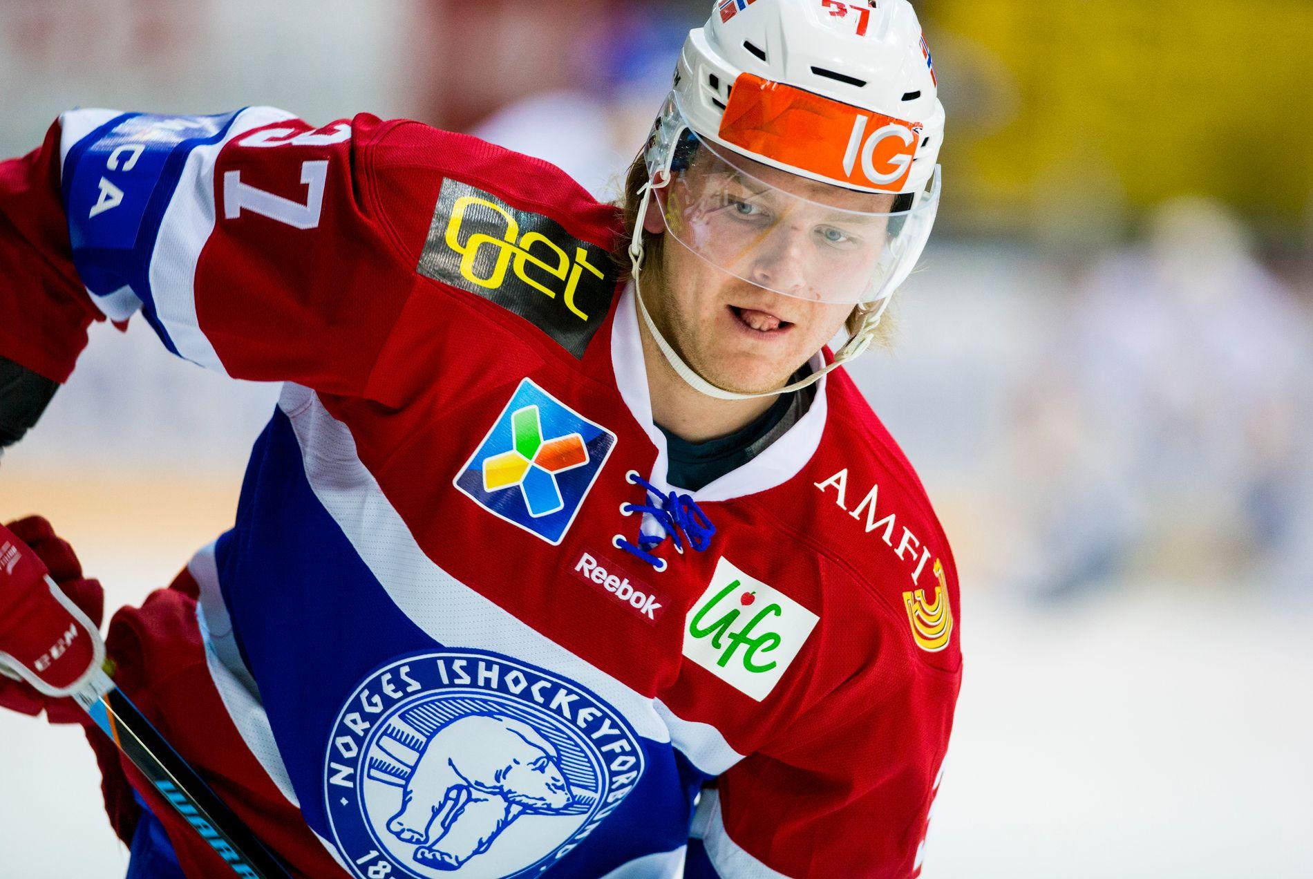 SUSPENDERT: Andreas Heier har fått to kampers karantene i Allsvenskan.