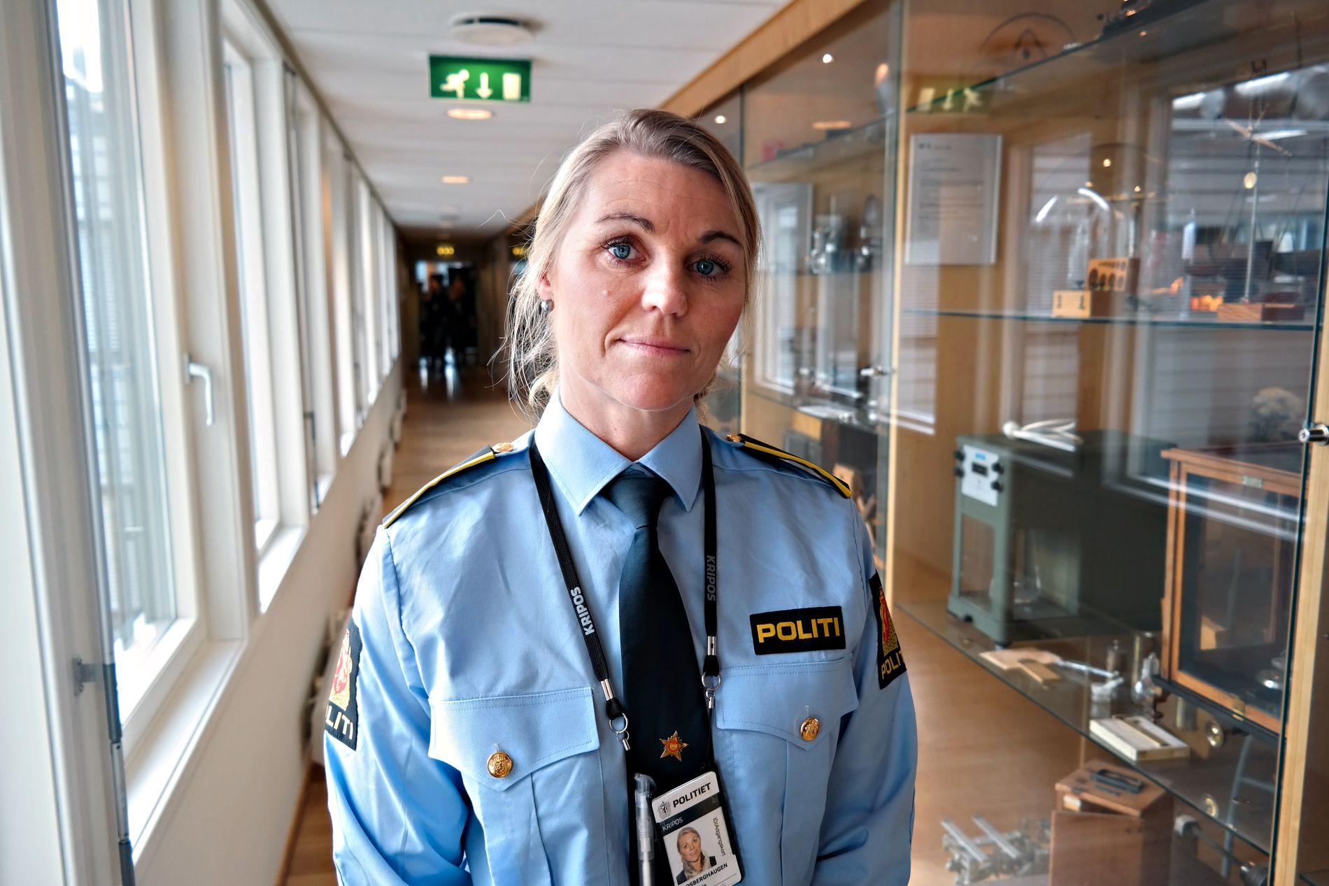 HEIER PÅ «SKAM»: Ann Kristin Grosberghaugen leder for voldtektsseksjonen i Kripos