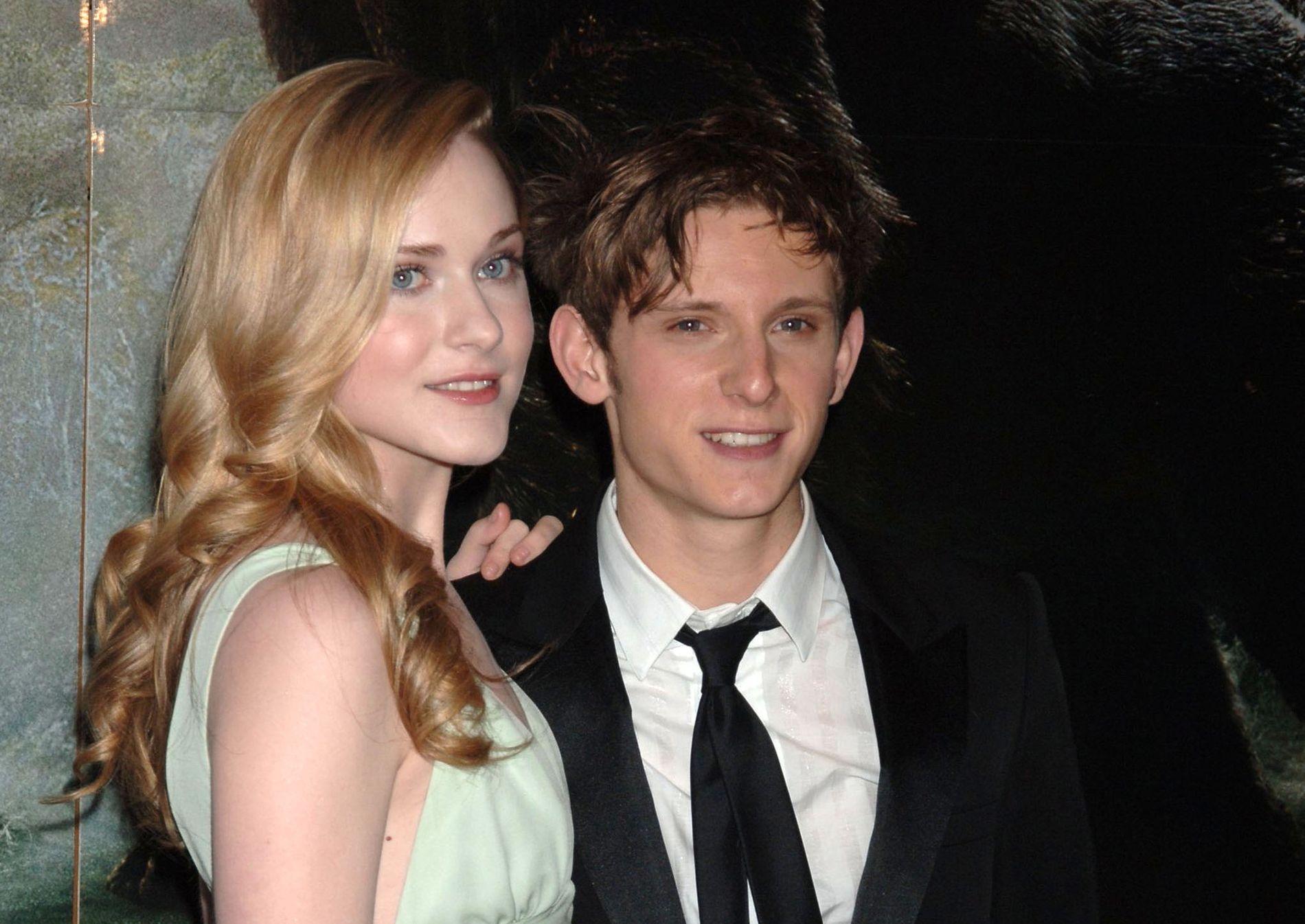 EKSER: Evan Rachel Wood og Jamie Bell på premieren av «King Kong» i 2005.