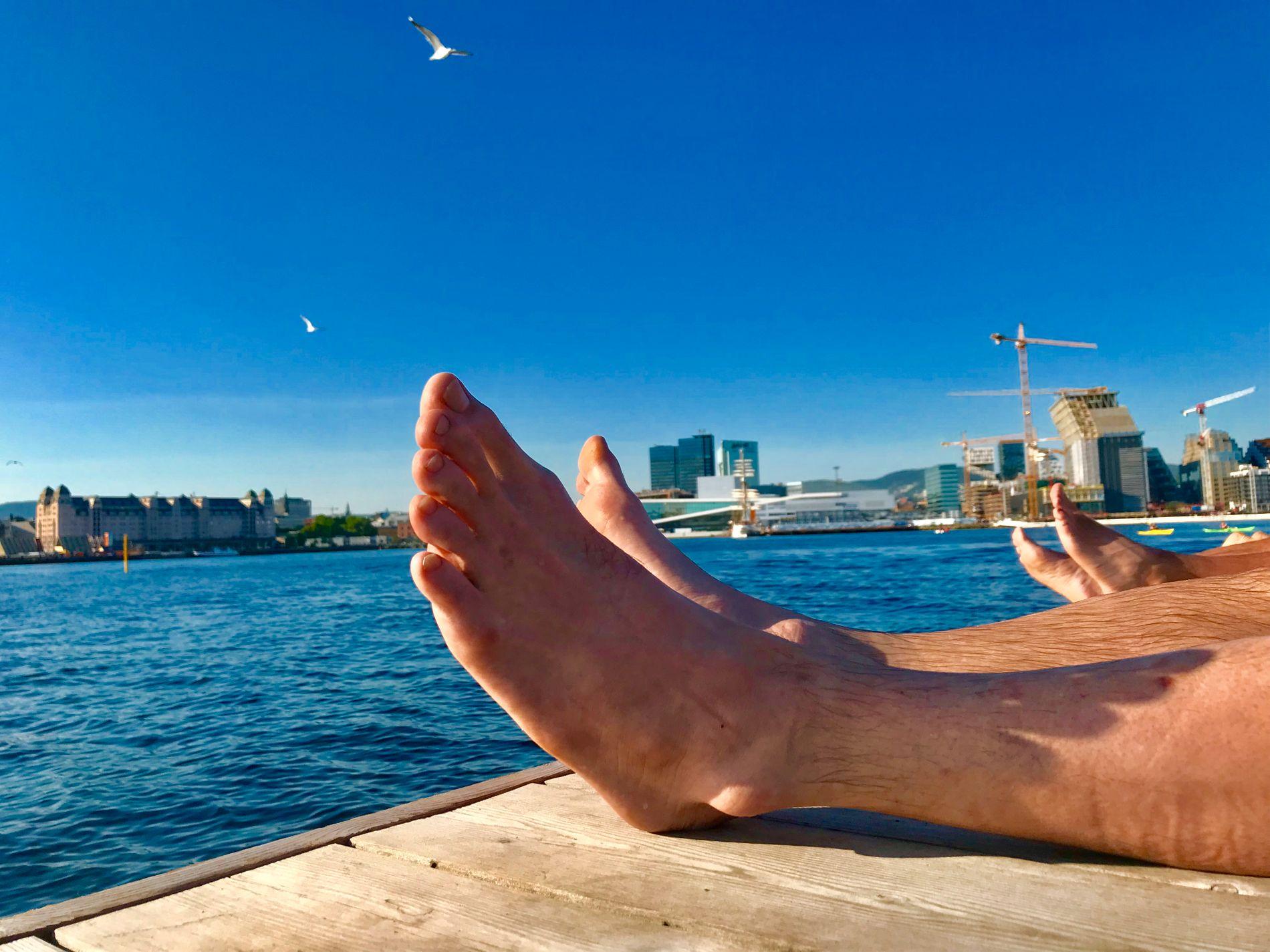 TAR SLUTT EN GANG: En gang tar sommervarmen slutt - og da er det kanskje bare Syden som sikrer deg sol og varme, mener meteorologene.