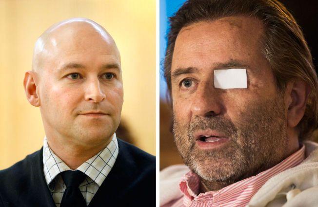 ANMELDER POLITIET: En anmeldelse signert advokat Vidar Lind Iversen (til venstre) og Henning Holstad er levert til Spesialenheten for politisaker onsdag 21. oktober.