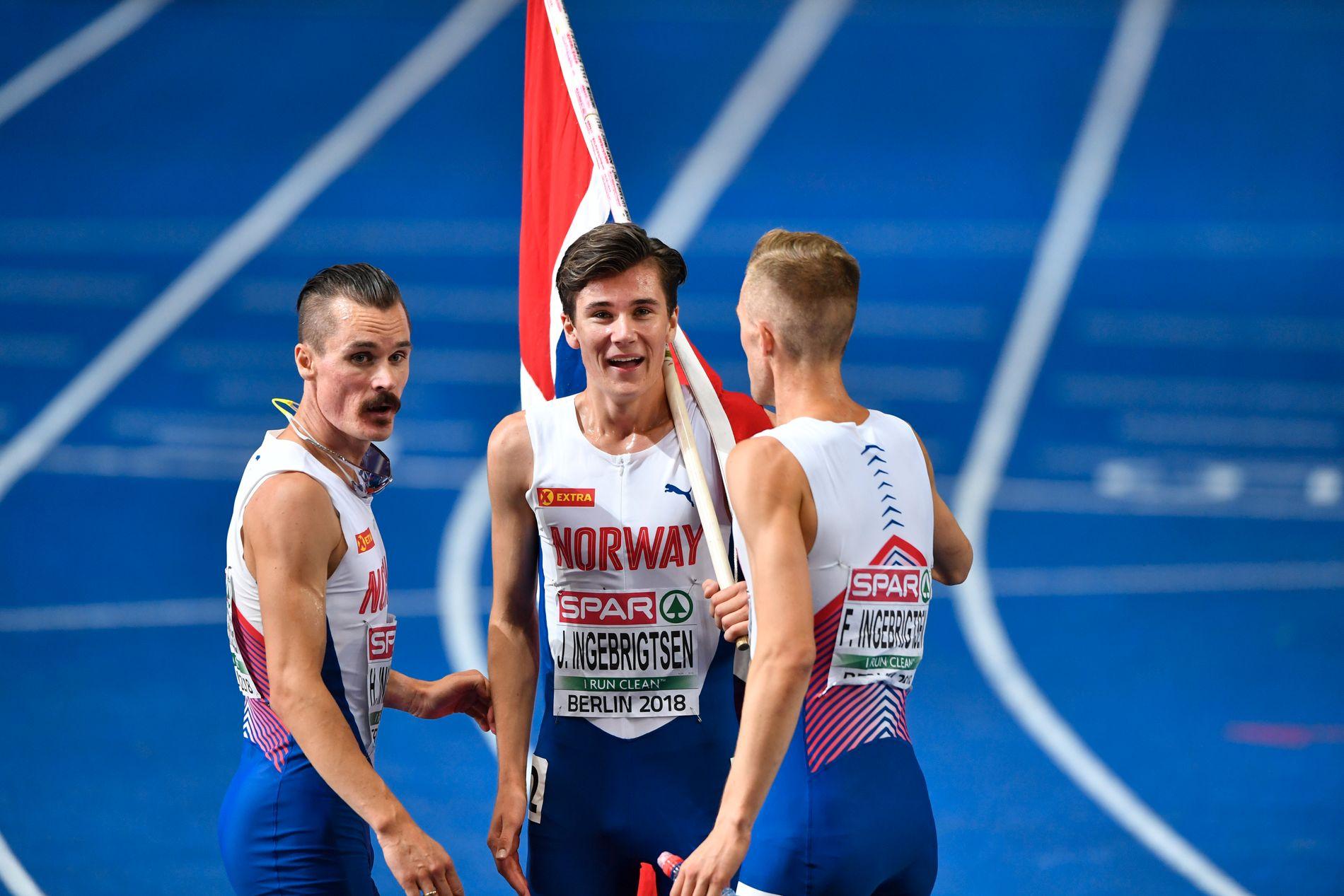 HAR KJEMPET FOR Å BLI BEST: Henrik, Jakob og Filip Ingebrigtsen har møtt motstand på veien mot suksess.