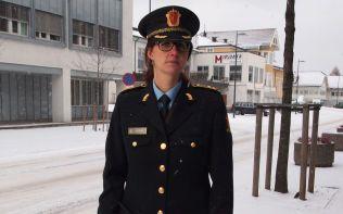 POLITIADVOKAT: Julie Dalsveen ved Innlandet politidistrikt.