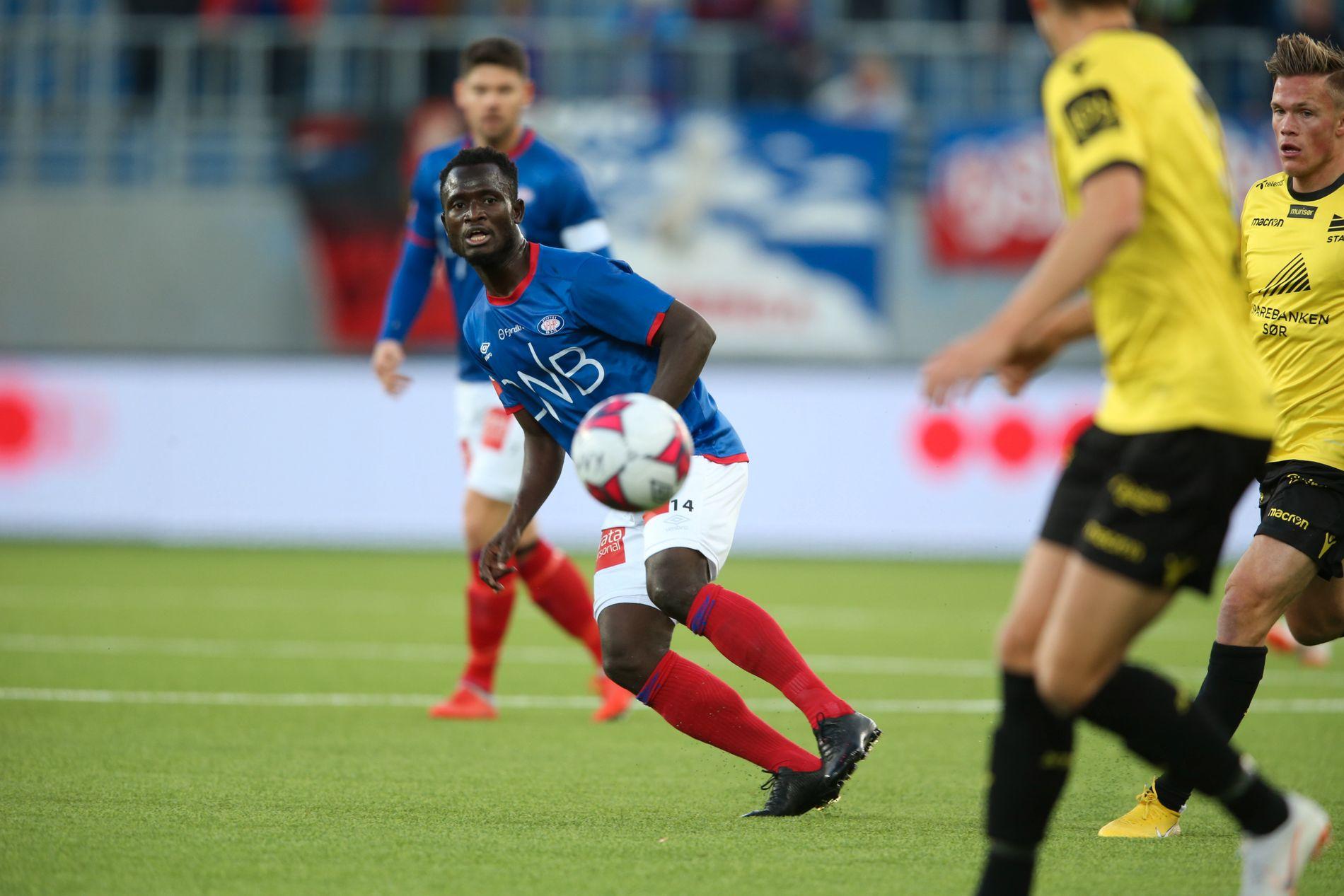 SUKSESS: Mohammed Abu har gjort det bra i norsk fotball. Først i Strømsgodset og nå i Vålerenga. Men perioden da Manchester City lånte ham ut fra klubb til klubb, opplevde han som tøff.