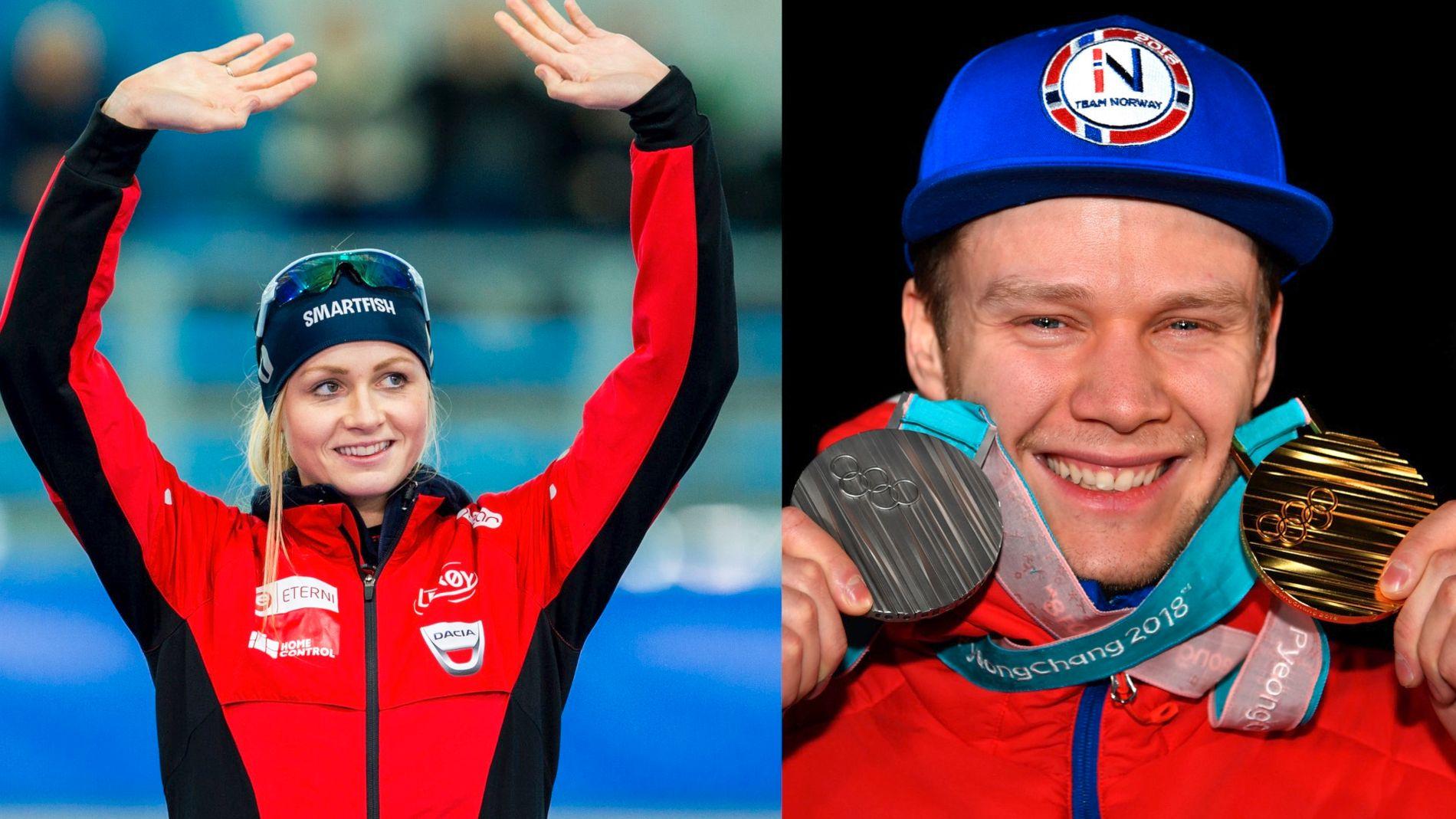 SAMMEN: Hege Bøkko og Håvard Lorentzen har blitt kjærester.