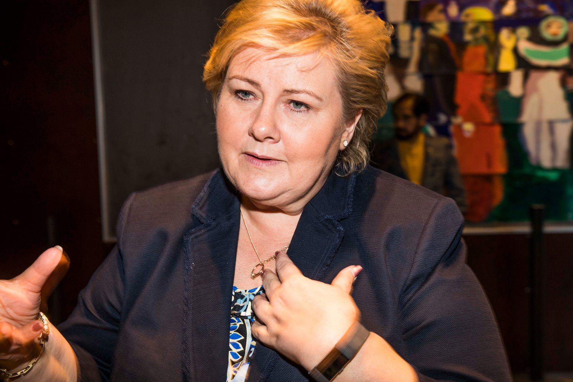 – Jeg har ikke hatt kunnskap om hvor sterke de har vært, sier statsminister Erna Solberg (H) om Oslo-gjengen Young Bloods.