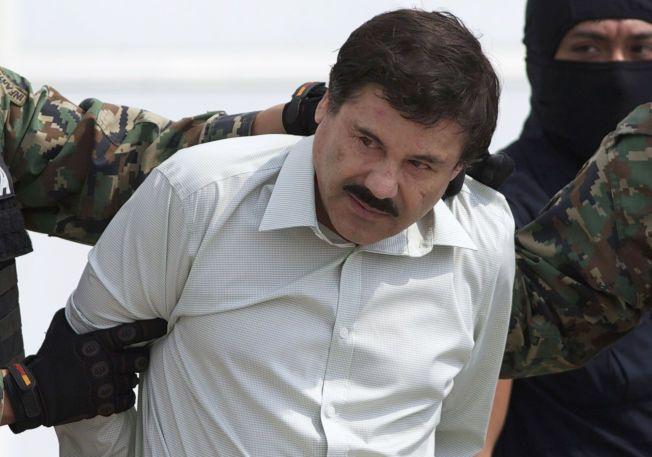 RØMTE: Narkobaronen Jaquin «El Chapo» Guzman rømte fra fengselet i juli. Nå kan sønnen har avslørt hvor faren befinner seg gjennom Twitter-tabbe.