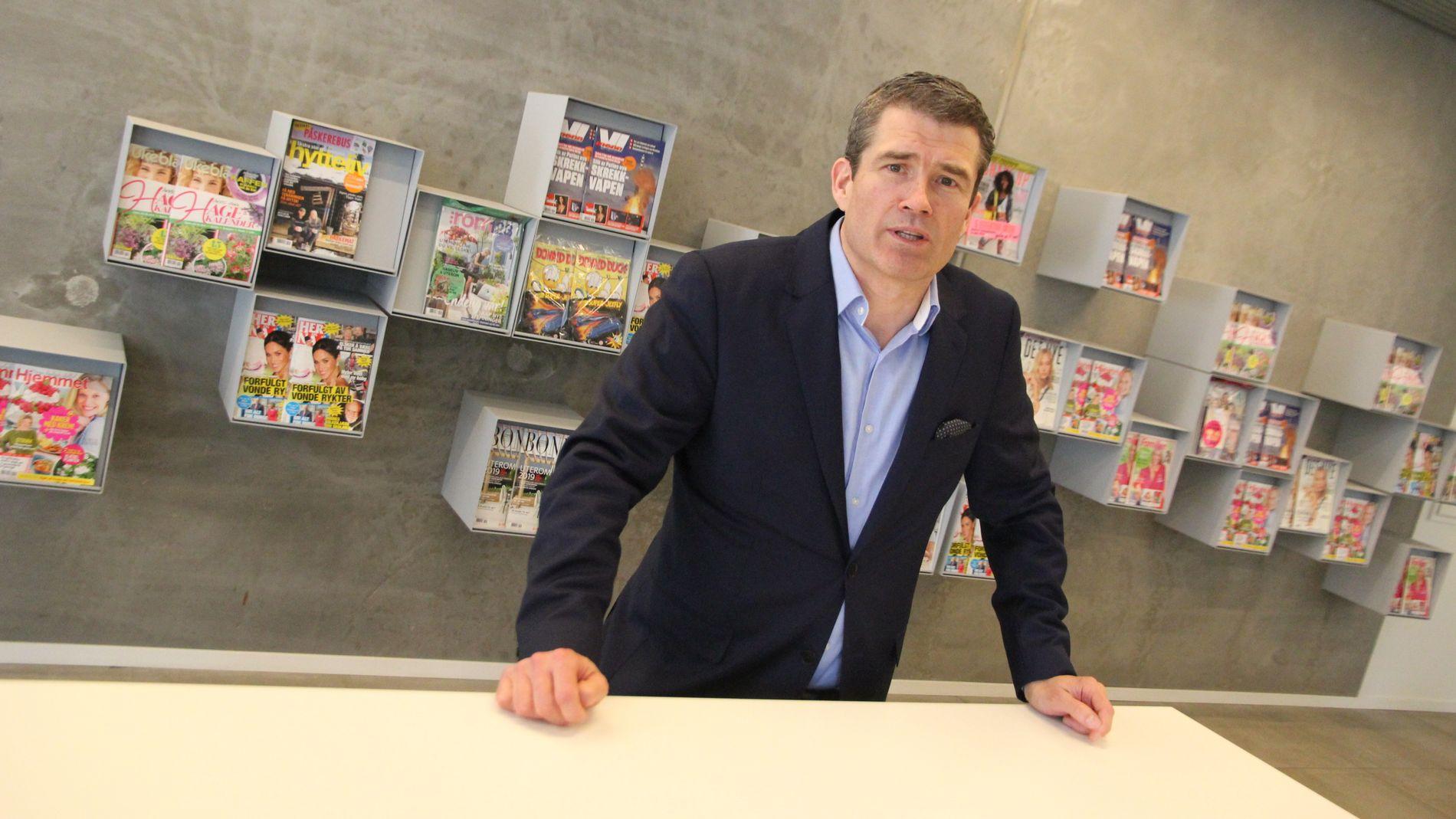 NETTHANDELSJEF: Cato Broberg leder netthandelvirksomheten i Egmont og investerer i ett til to nordiske netthandelselskaper i året.