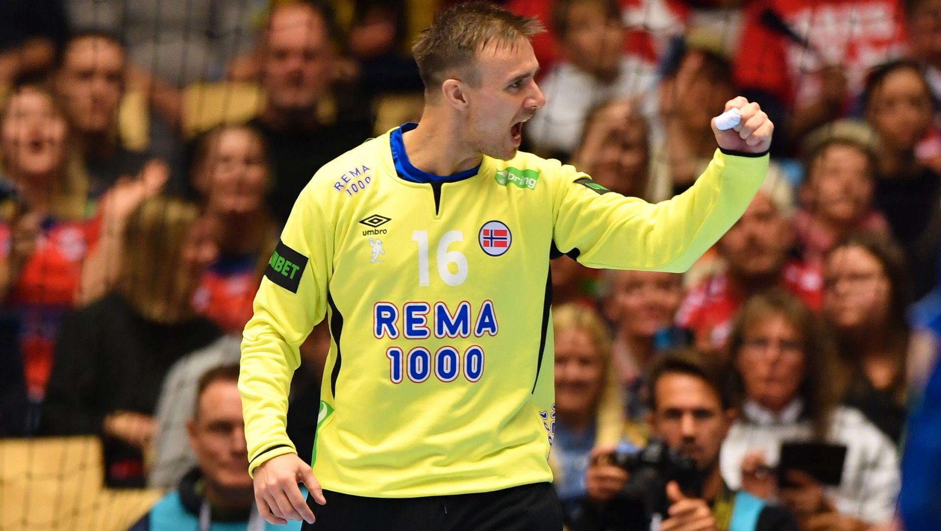 DAGENS MANN: Espen Christensen fulgte opp Torbjørn Bergeruds storspill i VM.
