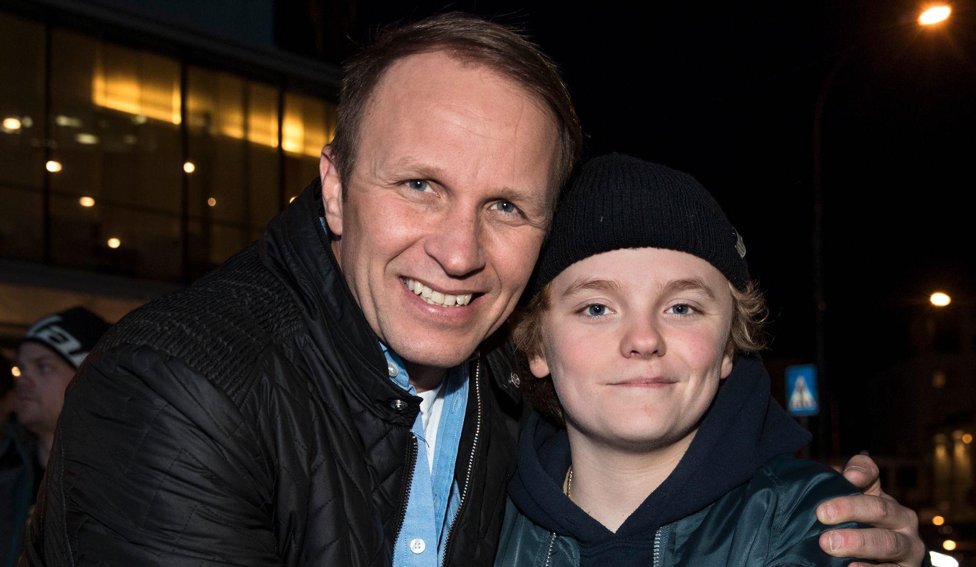 KJØRER HVER FOR SEG: Petter Solberg og sønnen Oliver skal kjøre på hvert sitt sted i helgen.