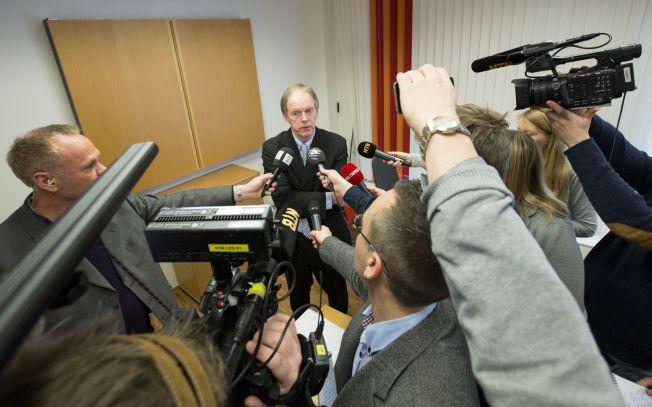 KRITISK RAPPORT: Førstestatsadvokat Bjørn K. Soknes ledet arbeidsgruppen som i går la frem rapporten om politiets etterforskning i Monika-saken.