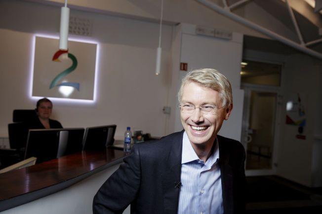 PÅ VENT: Olav Sandnes, den ferske TV2-sjefen, fikk ikke de avklaringene han hadde håpet på hos kulturminister Thorild Widvey.