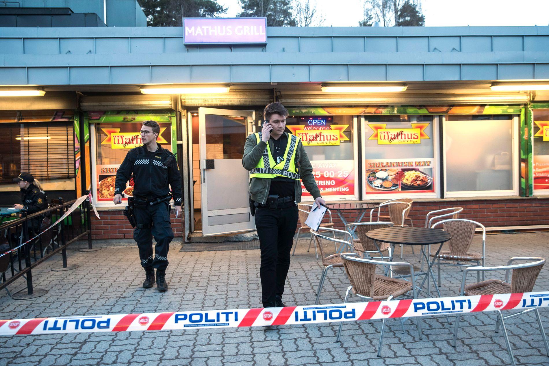 Politiet rykket i går ut til Vestli i Groruddalen, der ble avfyrt et skudd på en Pizzarestaurant.