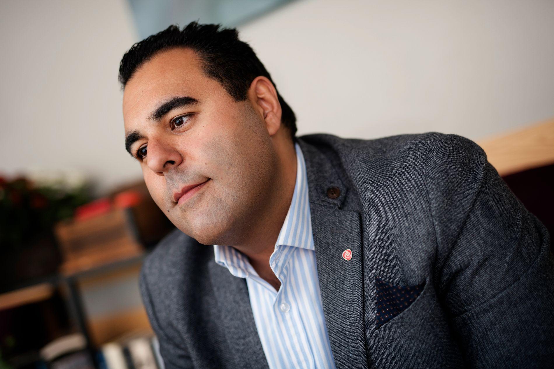 Masud Gharahkhani har ledet arbeidet med Aps asyl- og flyktningpolitikk
