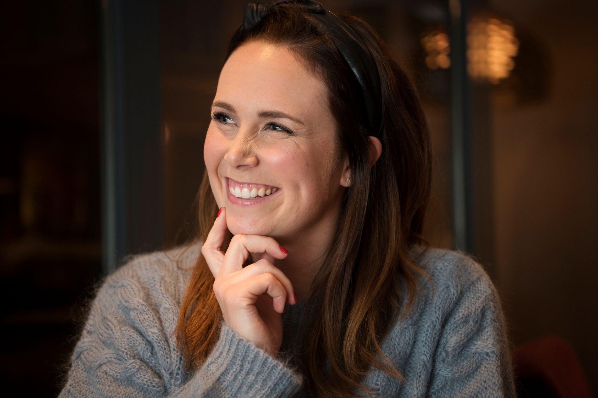 VENTER BARN: Ida Rasch, her fra et VG-intervju på Lillehammer desember 2017.