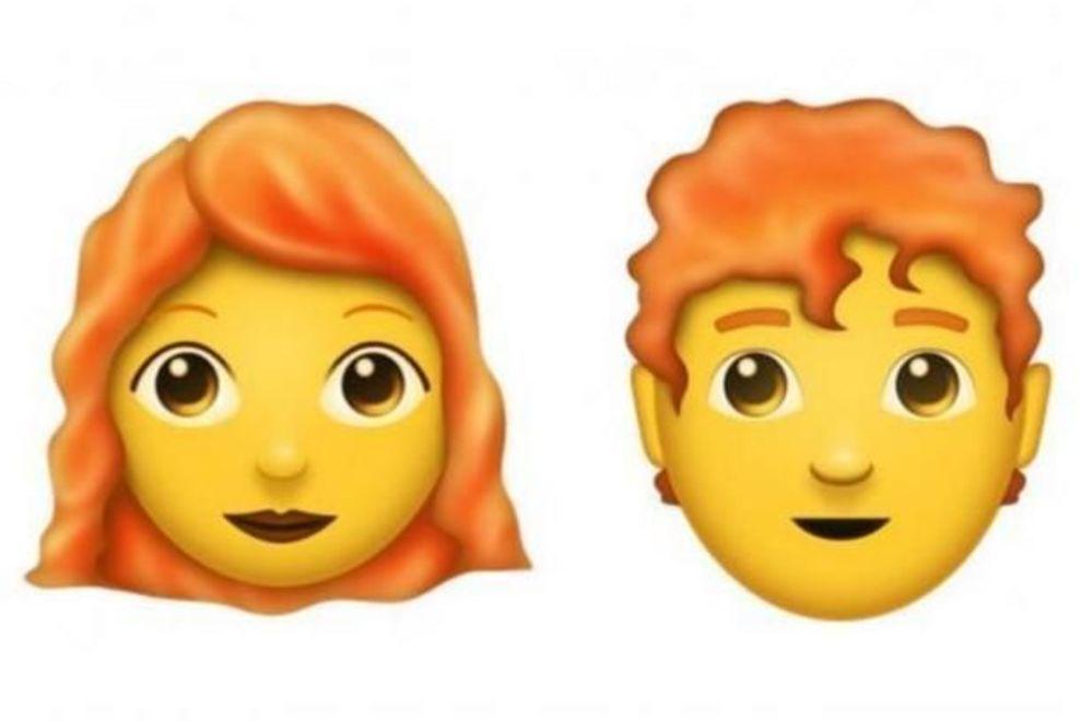 PÅ TIDE? Endelig får personer med rødt hår sin egen emoji!