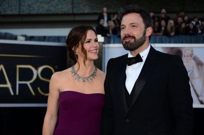SKILLES: Skuespillerne Ben Affleck og Jennifer Garner.