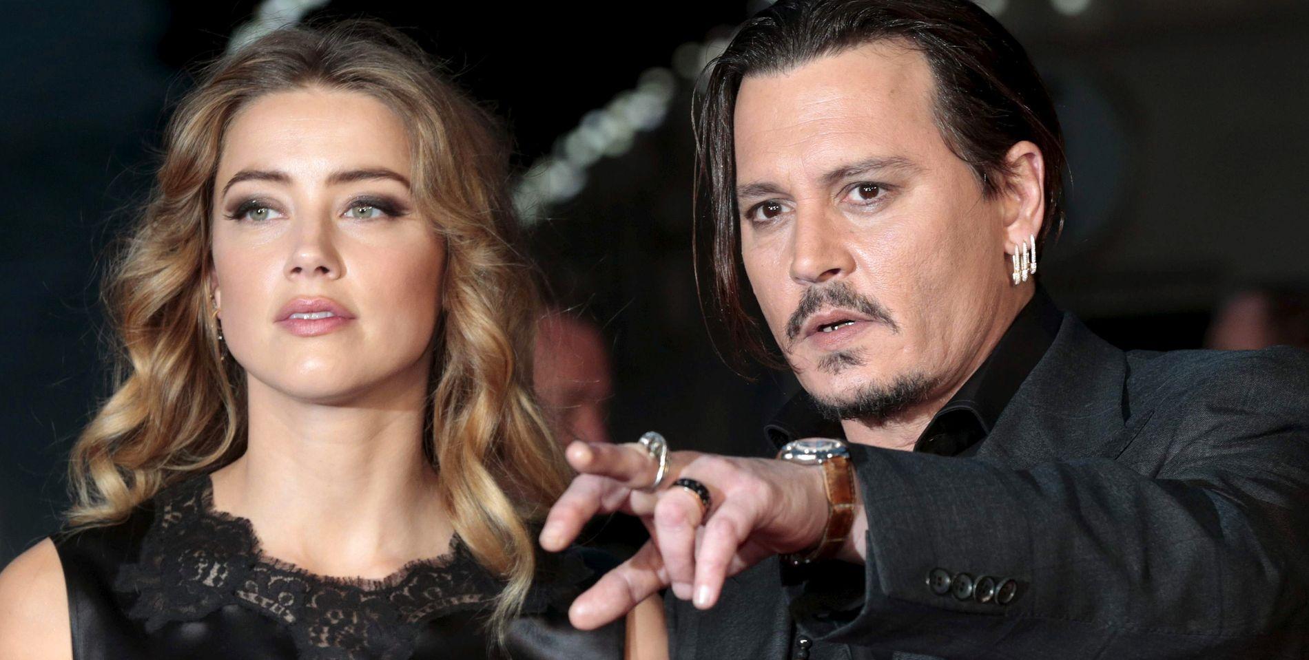 ANMELDER EKSKONA: Johnny Depp anmelder ekskona Amber Heard for mishandlingen. Hun har selv anmeldt ham for det samme tidligere.