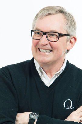 GODE SALGSTALL: Bent Myhrdal, administrende direktør i Q-meieriene er fornøyd med den nye yoghurten rettet mot barn.