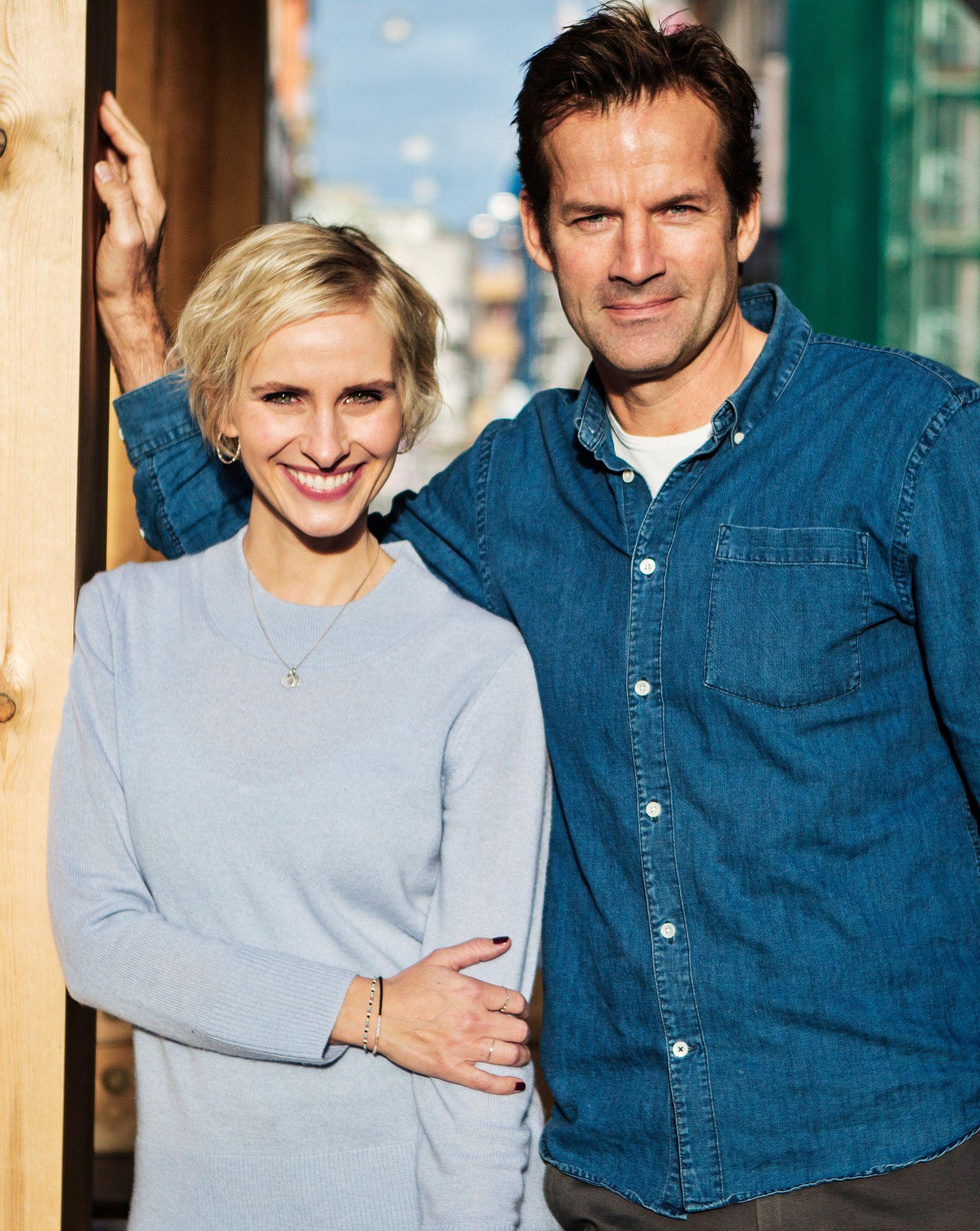 OL-PAR: Anne Rimmen og Jon Almaas.