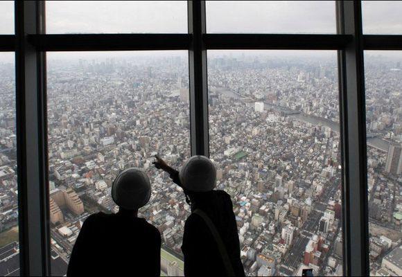 Snart åpner verdens høyeste tårn i Tokyo