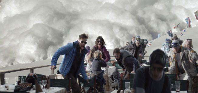 HAR PRIS: Ruben Östlunds «Turist» handler om hva som skjer når en far kun redder seg selv når hele familien står i fare for å bli tatt av snøskred.