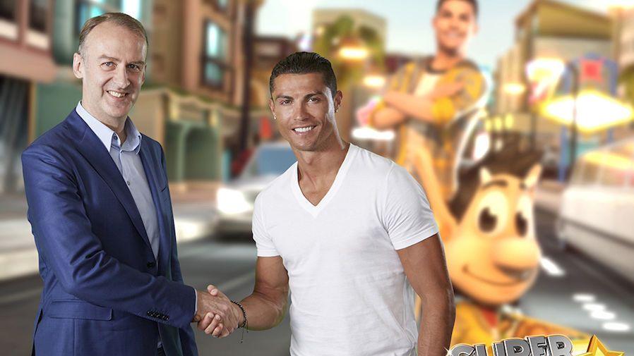 ENORM FANSKARE: Hugo Games-sjef Henrik Kølle har en eksklusiv avtale med Cristiano Ronaldo som sikrer selskapet tilgang til fotballstjernes over 200 millioner følgere på nett.