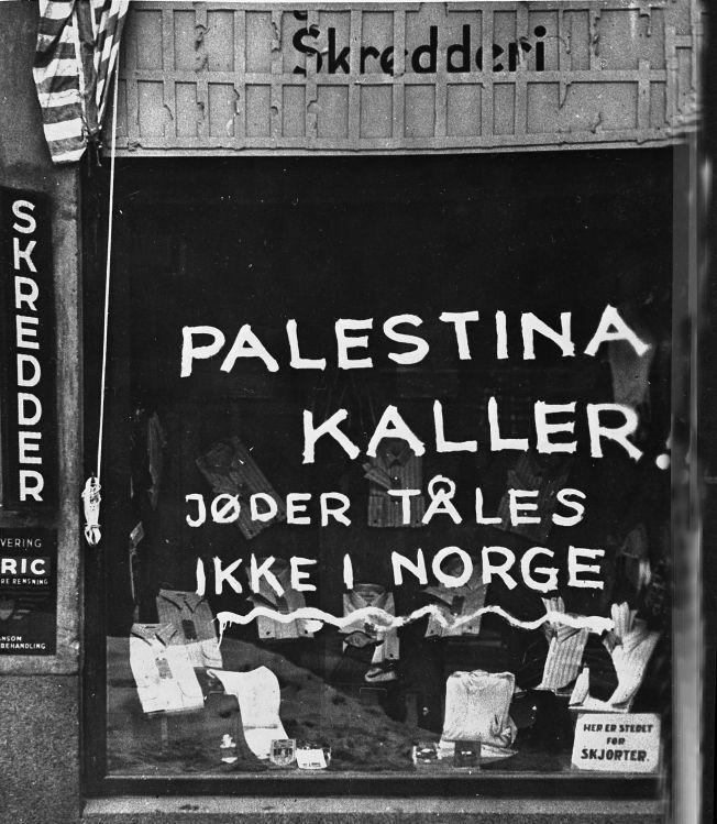 LÆRER VI ALDRI?: Antisemittismen har historiske røtter også i Norge.