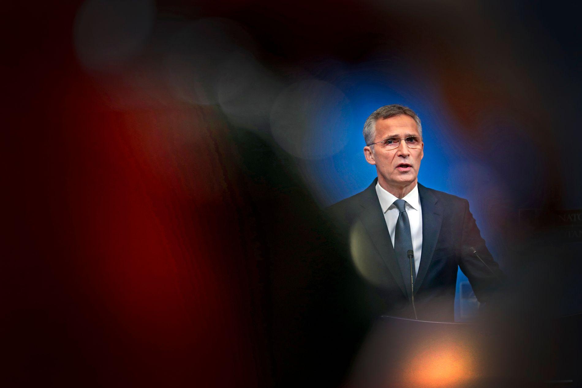 NATO-SJEF: Jens Stoltenberg.