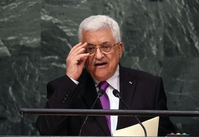 TORDNER: – Vår tålmodighet har tatt slutt, sa Abbas i sin tale til FNs hovedforsamling onsdag ettermiddag.