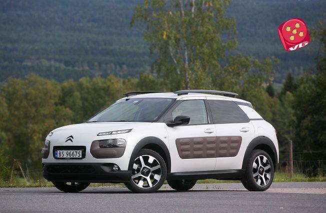 ANNERLEDES: Citroën C4 Cactus er trolig det friskeste pustet på veien dette året. Bilen skiller seg fra de fleste både ut- og innvendig, og er balnt annet utstyrt med luftputer på siden, som skal ta av for støt.