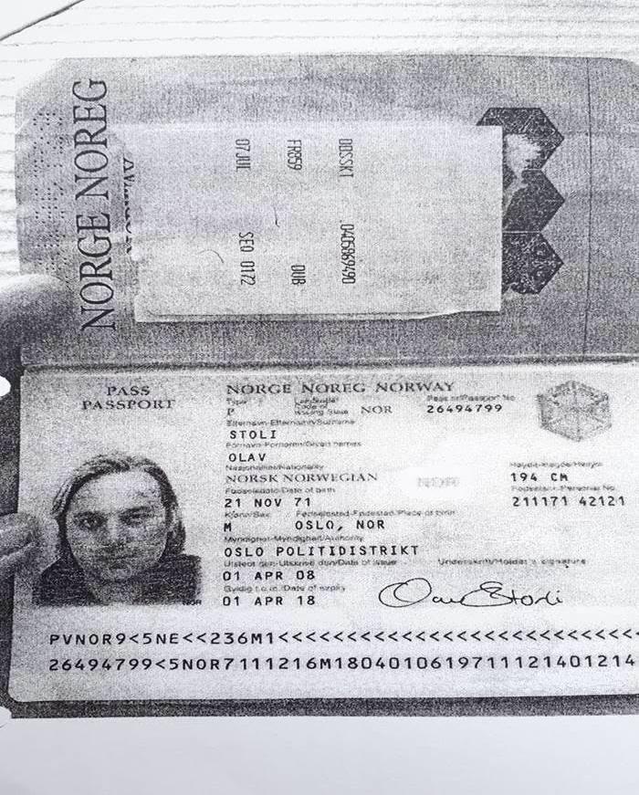 «OLAV STOLI»: På rømmen i Spania opererte etterlyste Thor Kaste Dahl under navnet «Olav Stoli» med et falskt norsk pass.