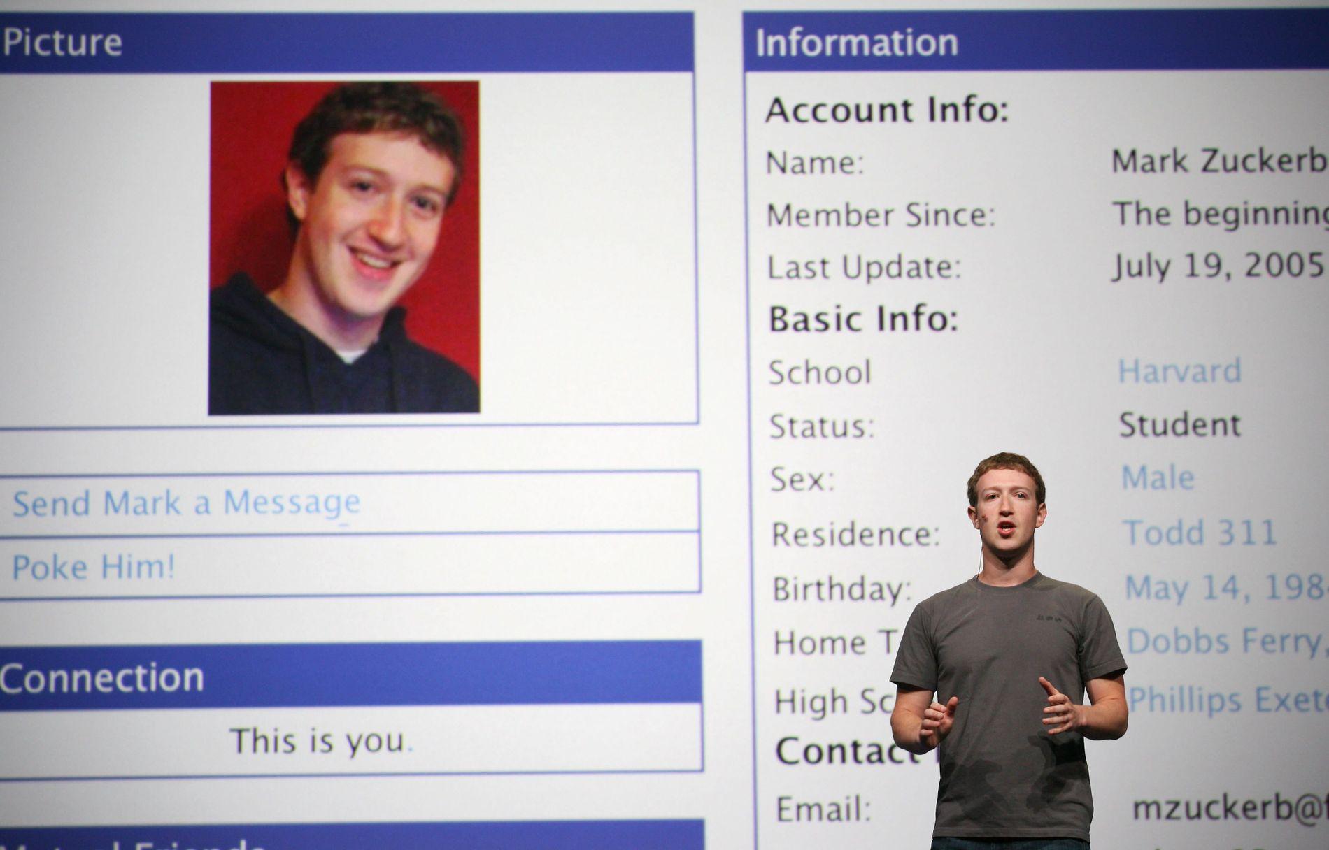 PUST ROLIG: – De som frykter at Facebook-sjefen Mark Zuckerberg skal utvikle seg til en slags Dr. Evil tronende i hovedkvarteret sitt i Palo Alto bør puste med magen, skriver Eirik Vinje.