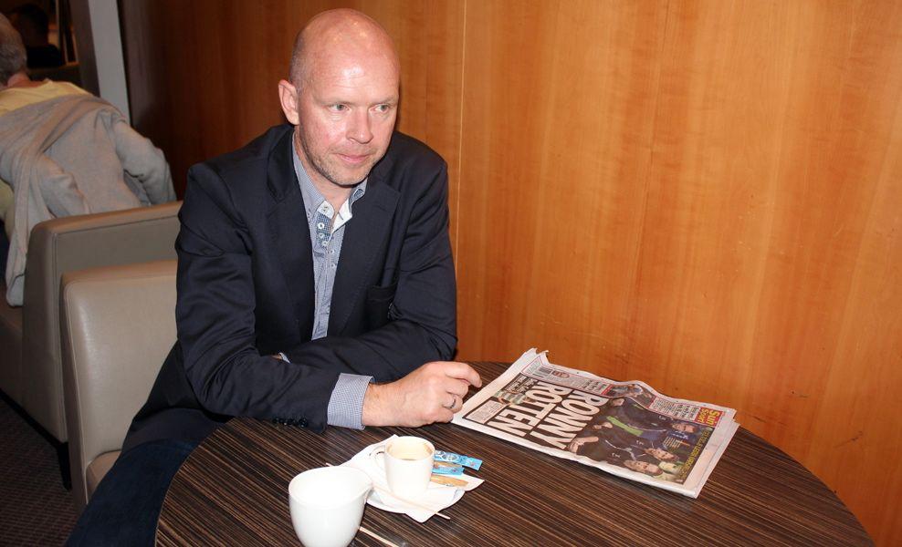 SKUFFET: Henning Berg, her fra tiden som Legia Warzawa-trener, er igjen nødt til å finne seg en ny klubb.