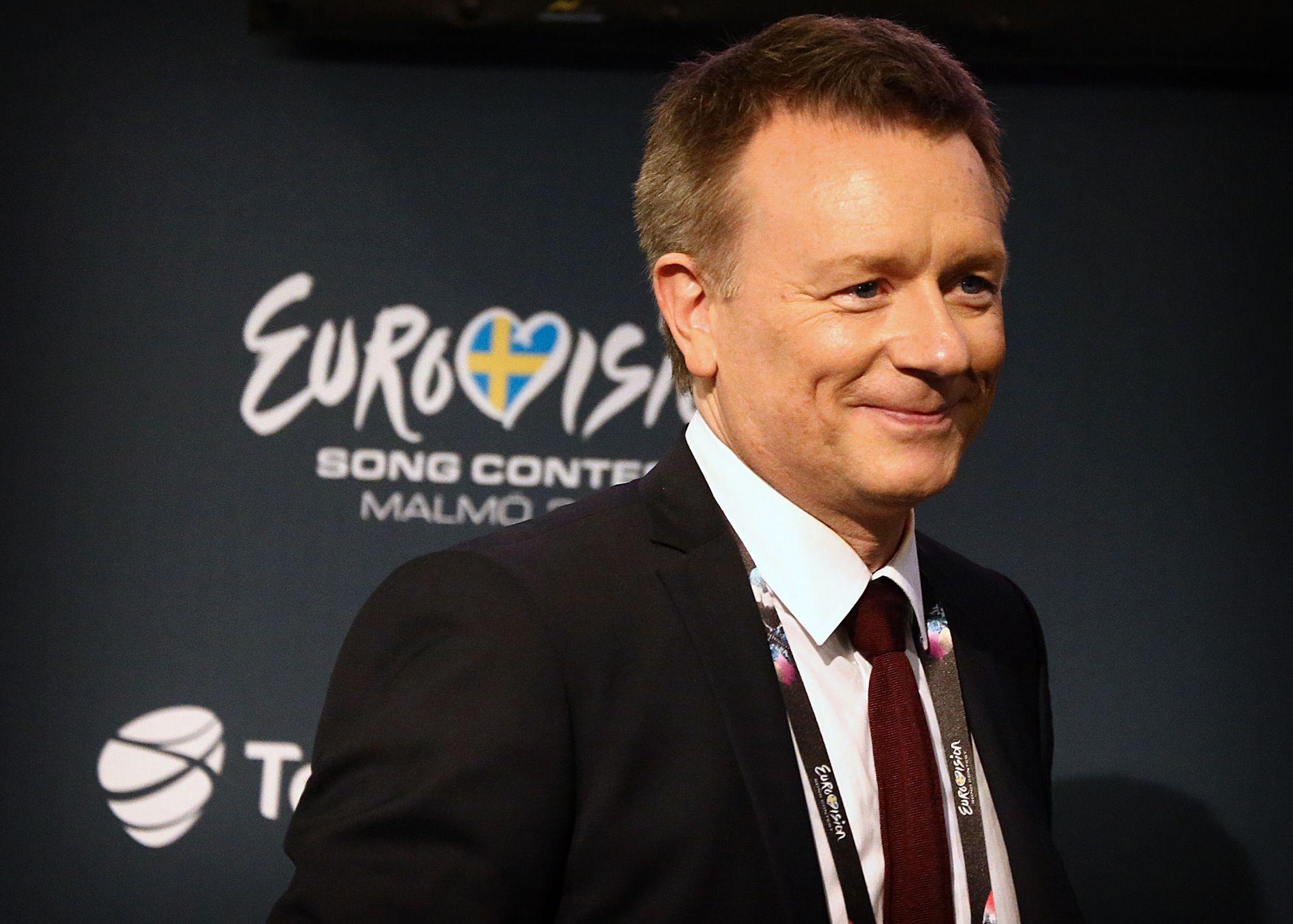 SJEF: Jon Ola Sand er øverste ansvarlige for hele Eurovision Song Contest.