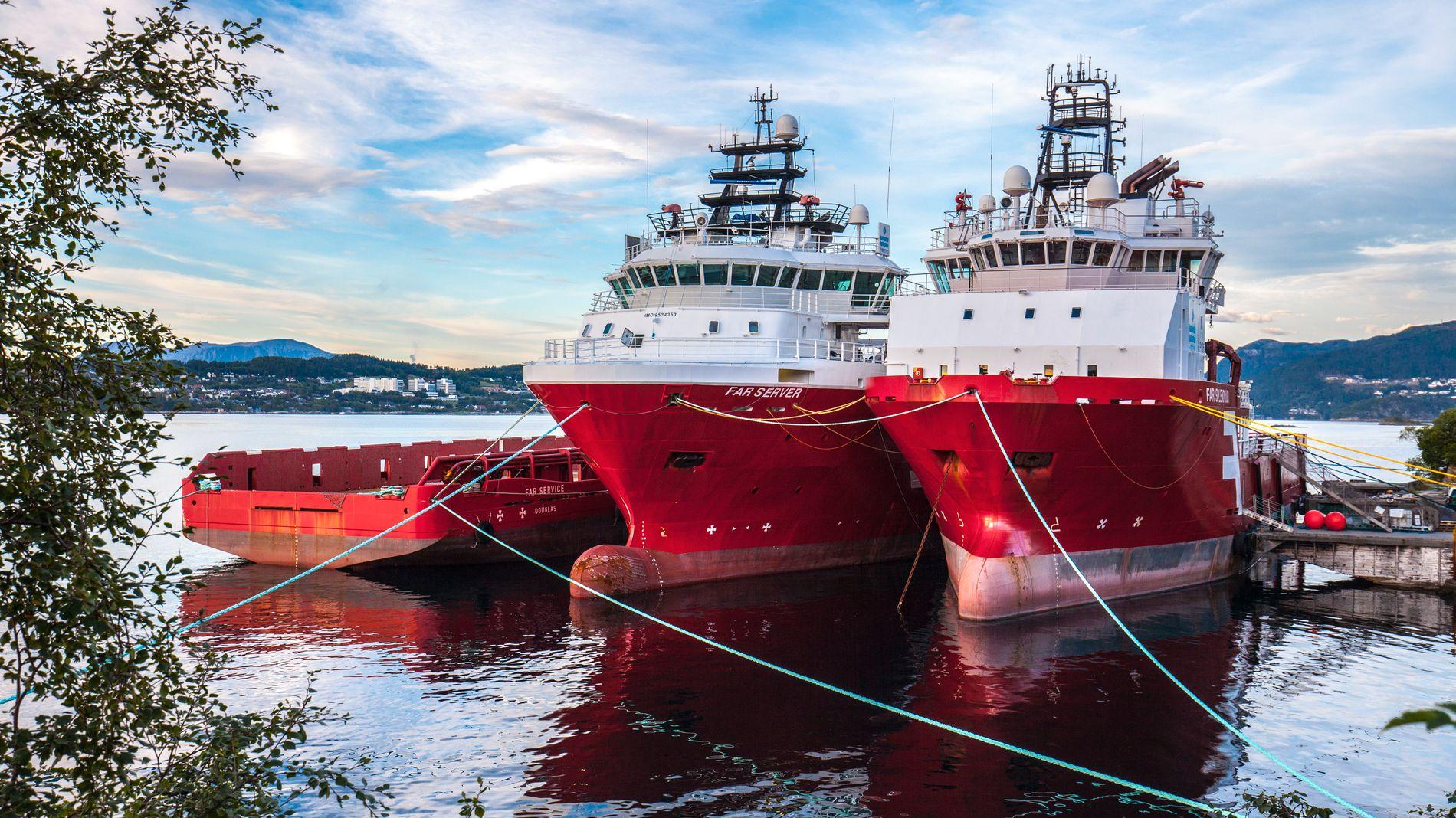 SolstadFarstad-sjefen sier de har fått indikasjoner på at de må selge unna flere skip.