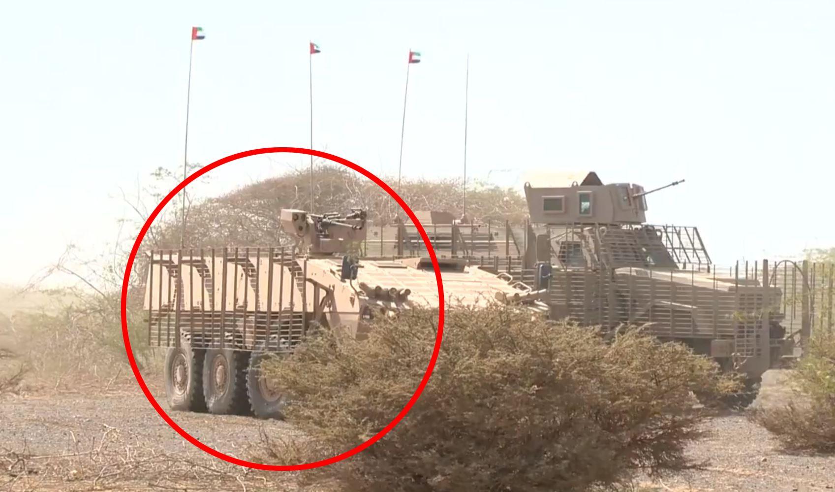 I KRIG: Patria AMV 8x8 er her brukt i offensiven mot havnebyen Hodeida ved Rødehavet i desember. Hungersnøden i akkurat denne havnebyen har vært mye omtalt.
