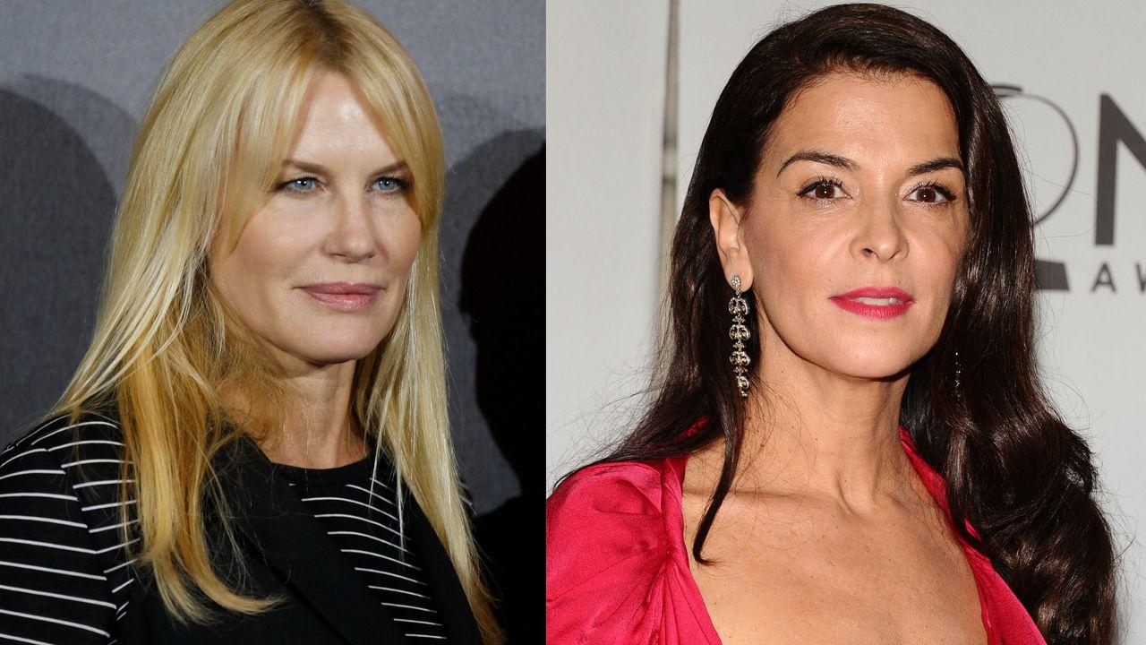 ANKLAGER WEINSTEIN: Daryl Hannah og Annabella Sciorra forteller om hvordan produsenten Harvey Weinstein har trakassert eller forgrepet seg på dem.