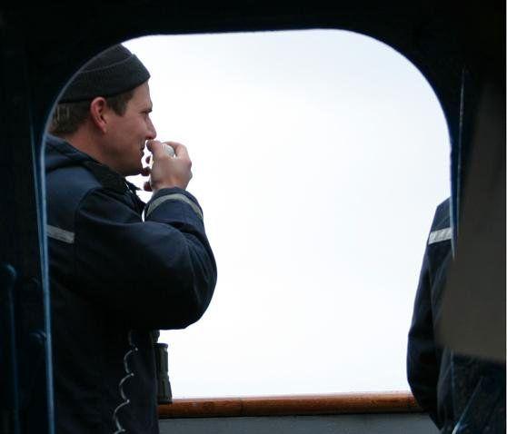 EKSPERT: Navigasjonsekspert og lærer ved Universitetet i Sørøst-Norge, Thomas Førli, har 13 års erfaring fra fregatter, blant annet har han tjenestegjort på «Fridtjof Nansen»-fregattene.