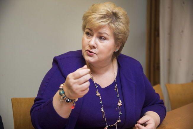 ENGASJERT: Statsminister Erna Solberg mener regjeringen har flere tiltak på trappene mot hatytringer.