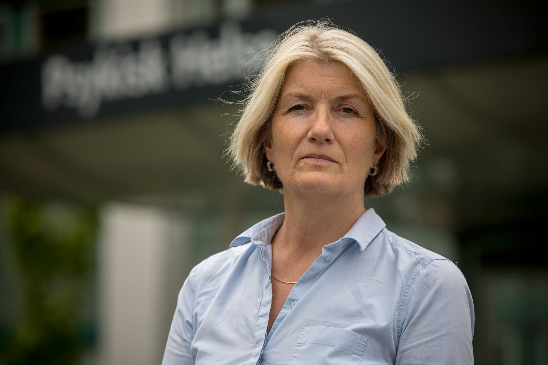 KLINIKKSJEF: Helle Kristein Schøyen ved Stavanger universitetssykehus mener det er behov for en klargjøring av lovverket rundt elektrosjokkbehandling uten pasientens samtykke.
