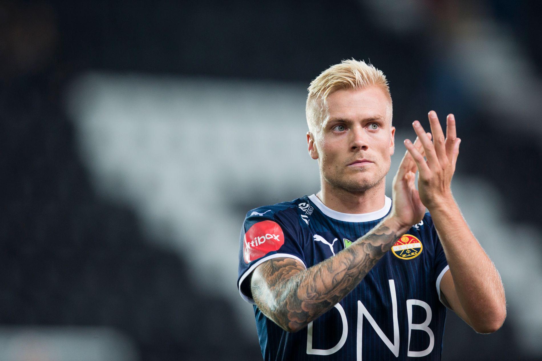 NYKOMMER: Eirik Ulland Andersen, her i Strømsgodset-drakt.